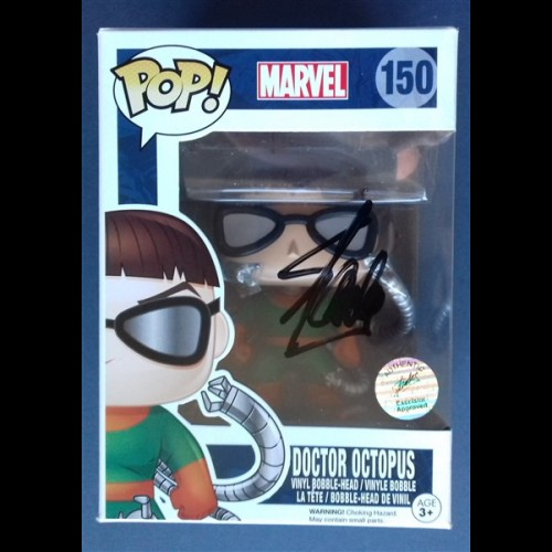 Doctor Octopus #150 Marvel Signed By Stan Lee