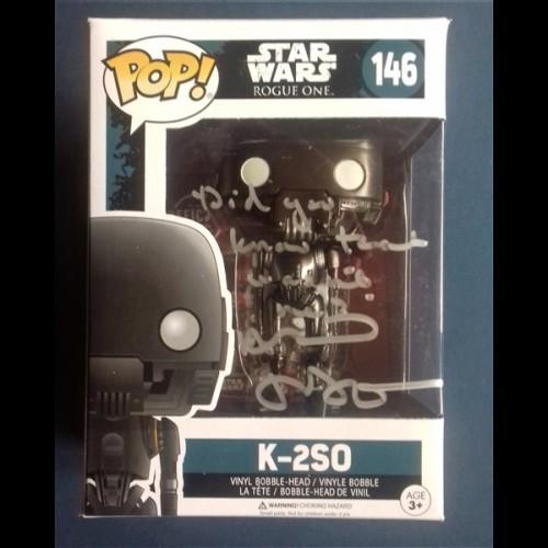 K-2SO Star Wars: Rogue One Funko Pop Signed By Alan Tudyk