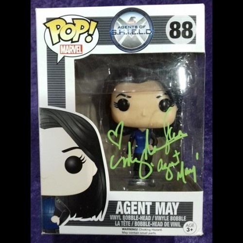Agents of Shield Melinda May 88 Funko Pop Signed By Ming-Na Wen