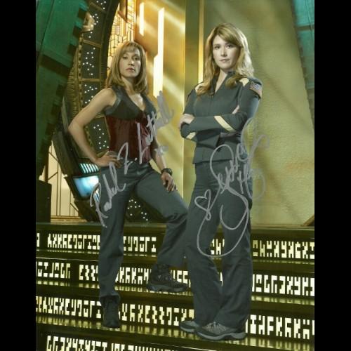 Rachel Luttrell & Jewel Staite
