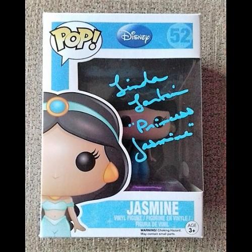 Aladdin - Jasmine Pop #52 Signed By Linda Larkin
