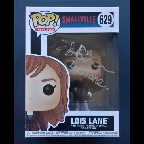 Smallville #629 Lois Lane Signed By Erica Durance