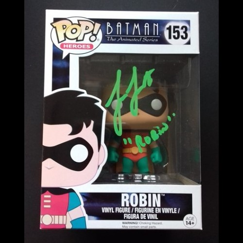 Robin; Batman: The Animated Series Signed By Loren Lester