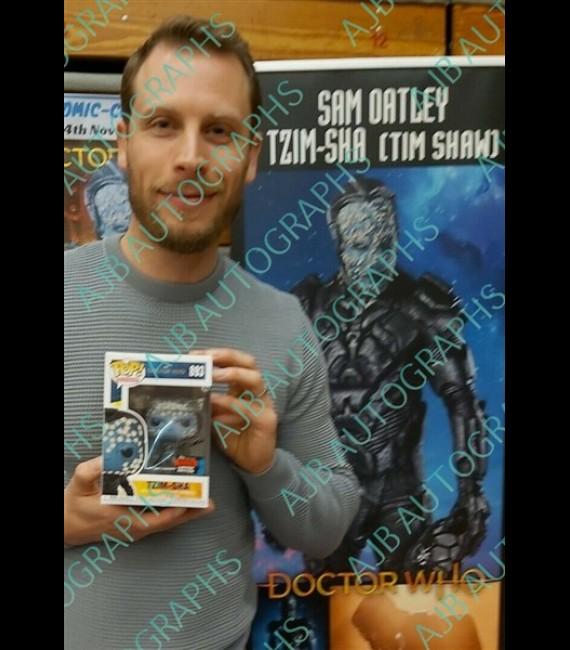 Doctor Who - Tzim-Sha #893 signed By Samuel Oatley
