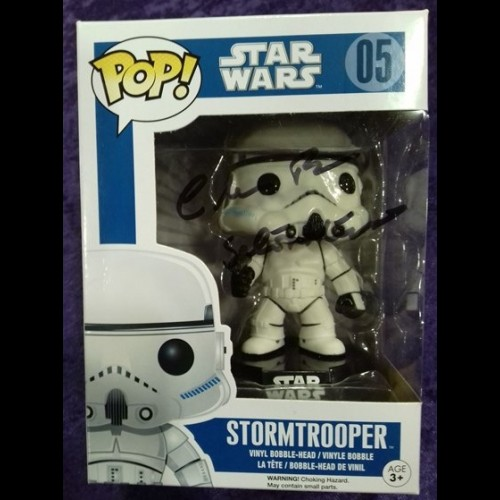 Stormtrooper #05 Signed By Chris Bunn