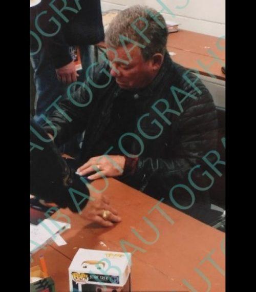 Star Trek Captain Kirk #81 Signed By William Shatner